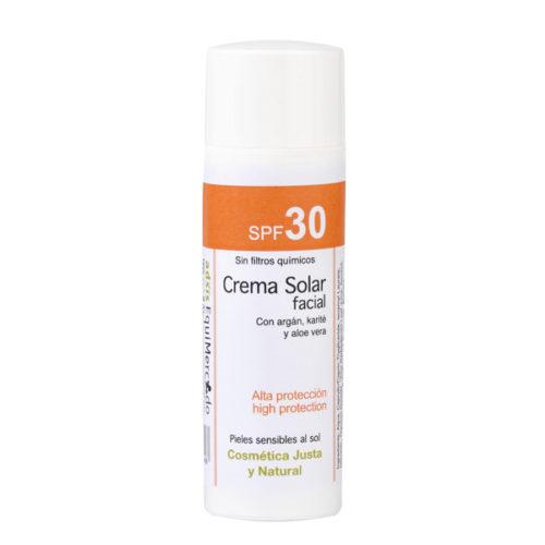 Crema solar facial SPF30