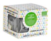 Caja de té verde con cítricos en pirámides (contiene 15 uds)