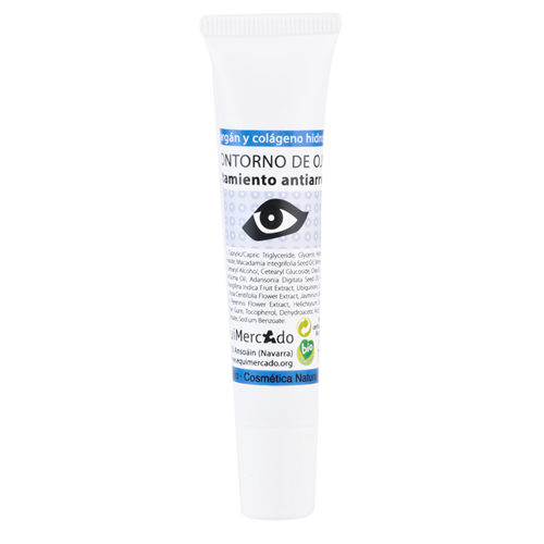 Bote de contorno de ojos antiarrugas