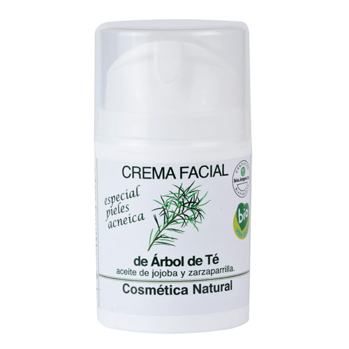 Crema facial de árbol de té