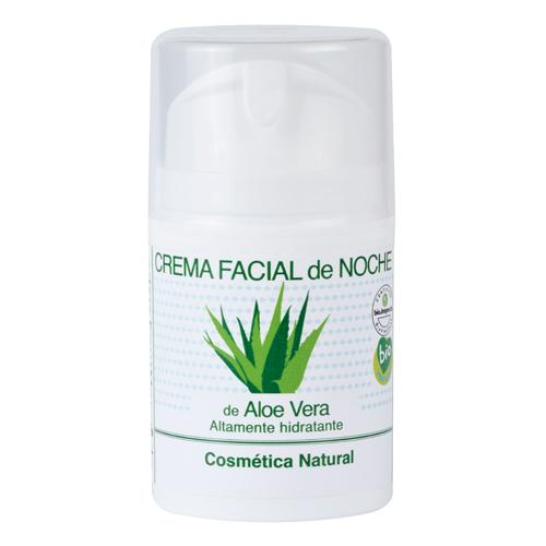 Crema facial de noche de Aloe Vera