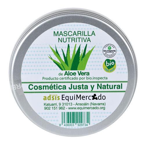 Mascarilla nutritiva de Aloe Vera