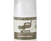 Bote de crema facial de noche de Karité