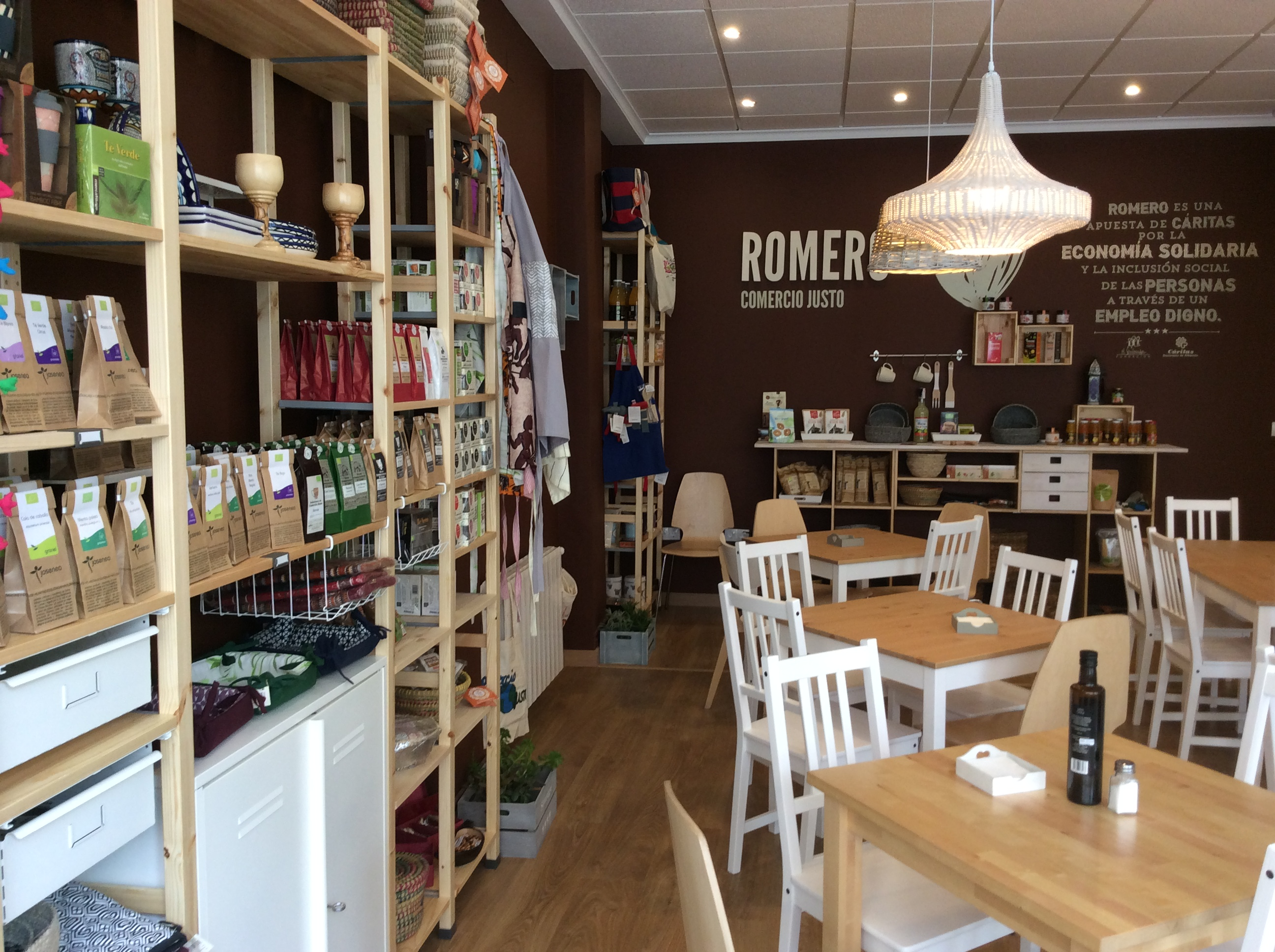 Tienda Romero de Comercio Justo en Albacete